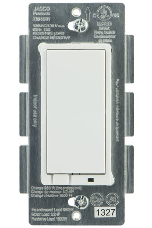 Jasco 45609 Z-Wave Wireless Lighting Control On Off Switch 5-Pack