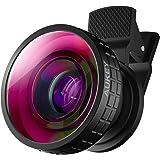 Aukey Objectif Fisheye à 180 degrés pour iPhone 6/6 plus/6s/6s Plus/Samsung/iPad/Smartphone/Tablette/etc. Noir