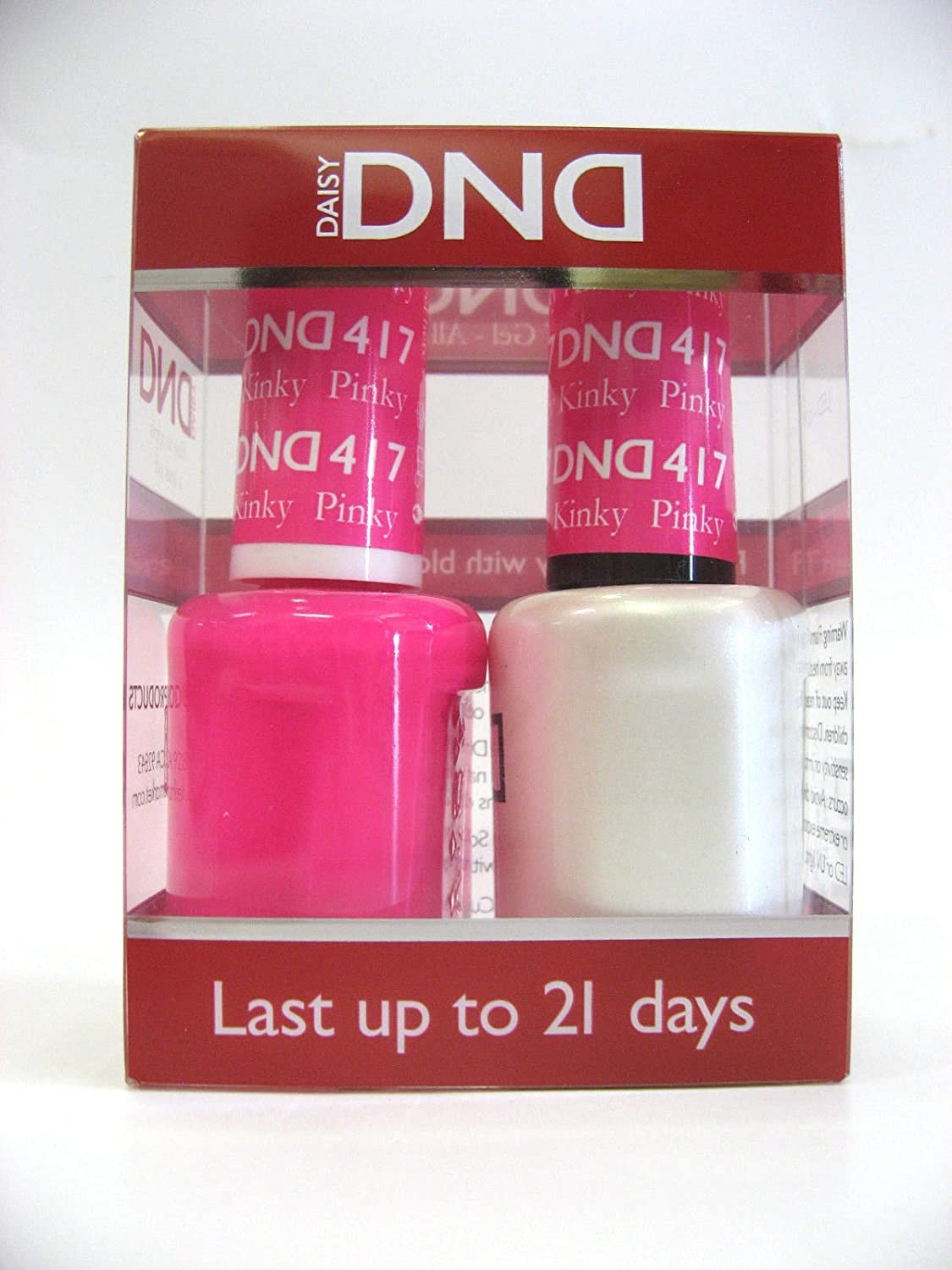 Amazon.com: DND *Duo Gel* (Gel & Matching Polish) Spring Set 417 ...