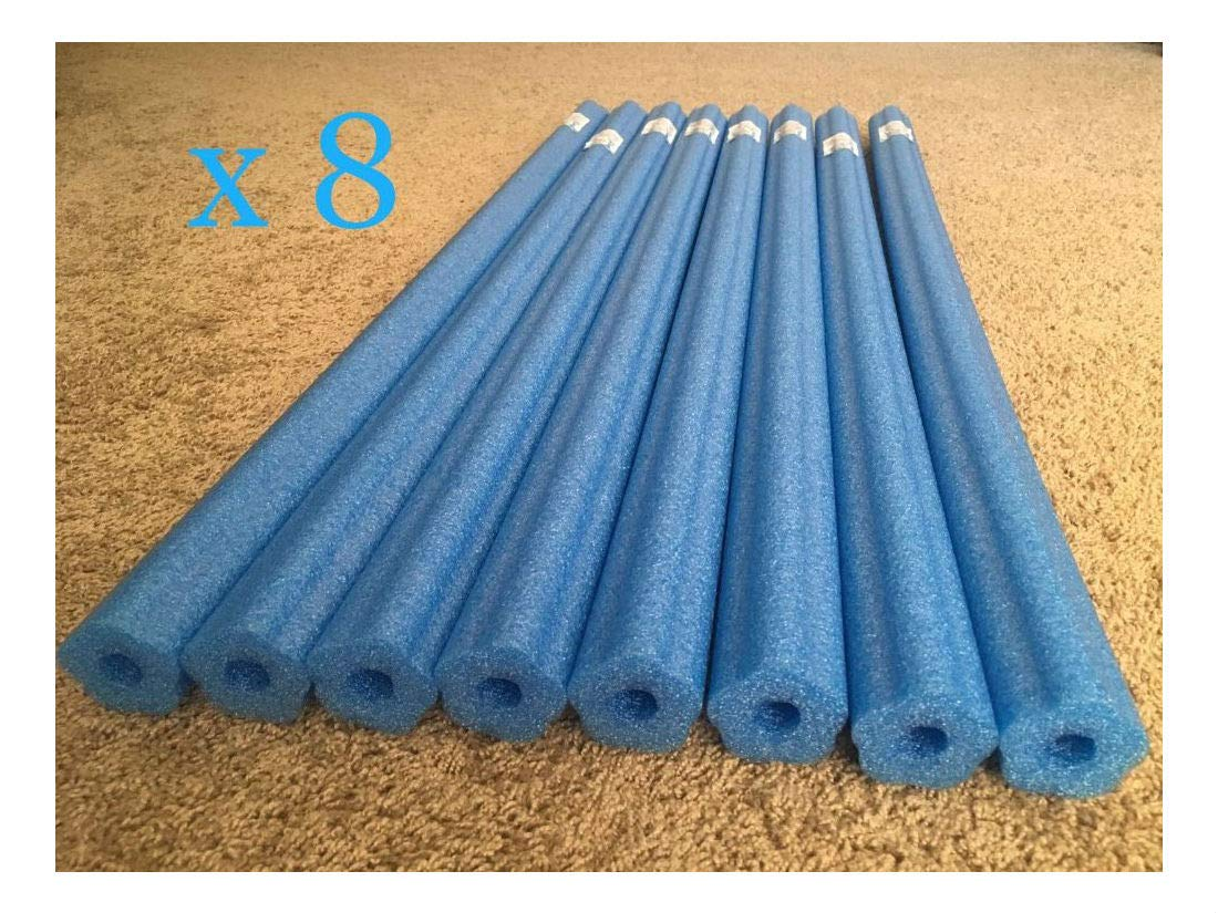 Unbranded Lot 8X Blue Noodle Swimming Pool Noodle Therapy Water Floating Foam Craft