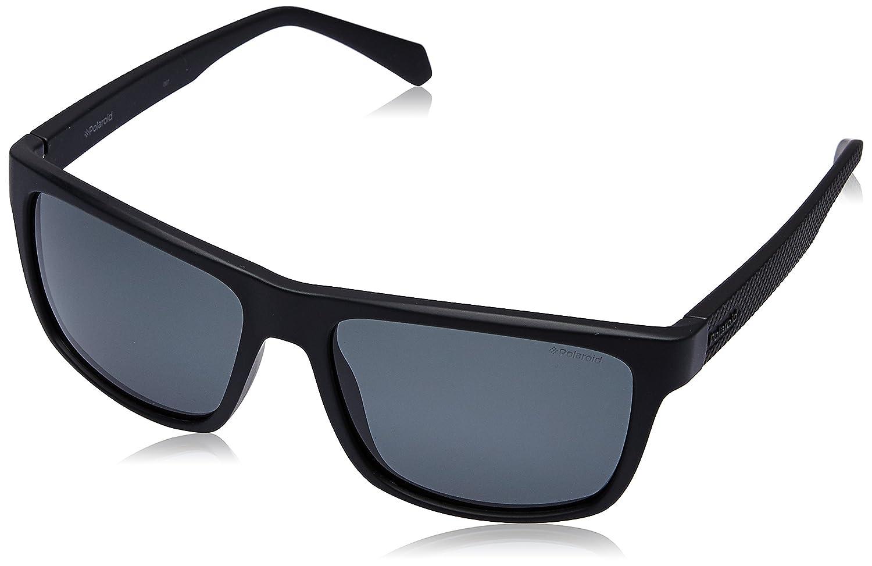 55 Homme Polaroid Eyewear PLD 2058//S Montures de lunettes Noir MTT BLACK