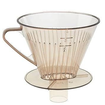 Westmark PorteFiltre à Café Plastique Transparent X - Porte filtre café
