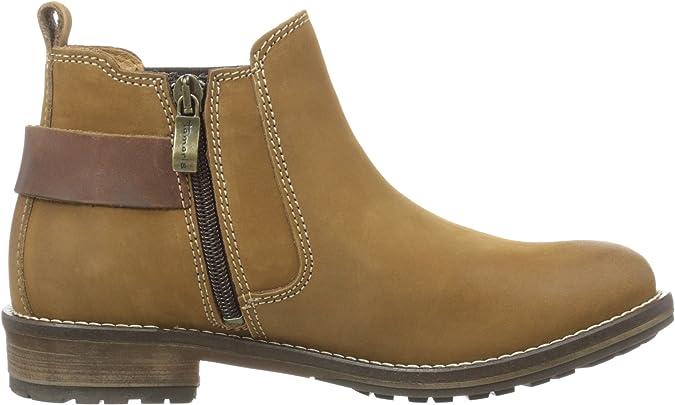 Details zu TAMARIS Schuhe Chelsea Stiefelette Braun NUTMOCCA