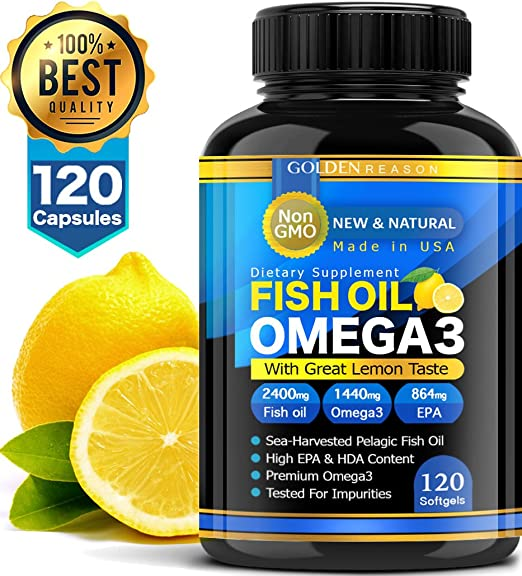 Product thumbnail for New and Natural Fish Oil