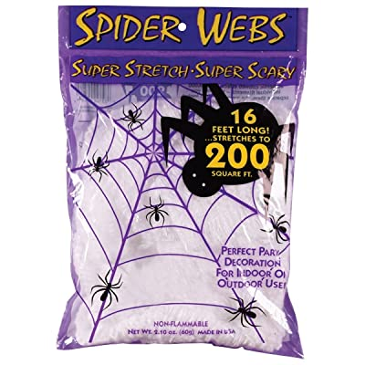 Fun World Costumes Super Stretch Spider Web: Toys & Games