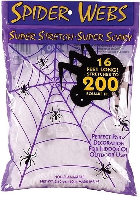 Amazon.com: Fun World Costumes Super Stretch Spider Web: Toys & Games