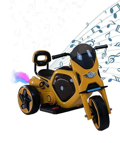 AIREL Moto Eléctrica para Niños | Moto Eléctrica Niños | Moto Eléctrica con Música y Luz
