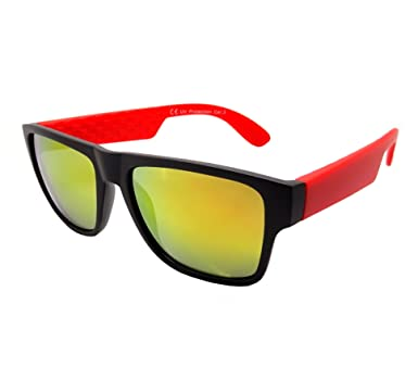 Lunettes Soleil Homme Femme Sunglasses Sport Rectangle Spy Carrera Mat Carrerino (bleu) Xx5NW