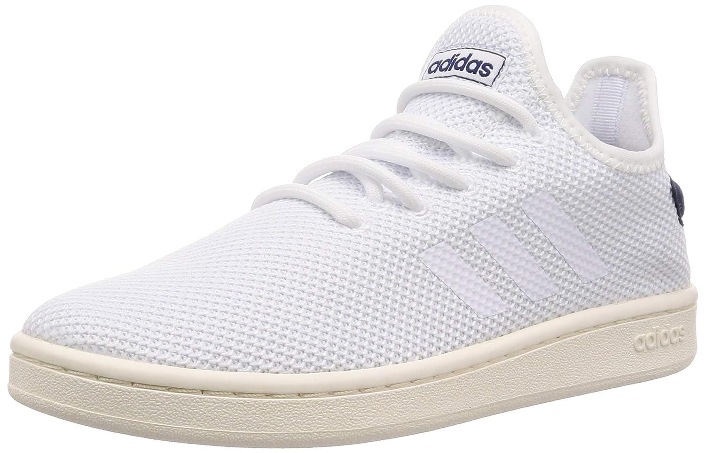 Adidas Court Adapt, Chaussures de Fitness garçon MultiCouleure (Ftw Bla Ftw Bla Azuosc 000) 37.5 EU