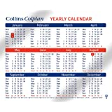 Collins Colplan 2018 A4 Yearly Calendar