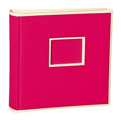 200 Pockets Album de fotos, fuchsia +++ 50 hojas cartulina ...