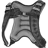 GORILLA SPORTS® Gewichtsweste X-Style 5 kg / 8 kg / 10 kg für Fitness und Laufen