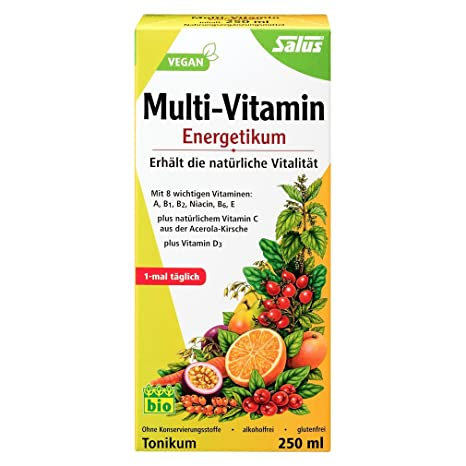 Salus Multi Vitamina Energético (Paquete familiar), 1er Pack (1 x 500 ml