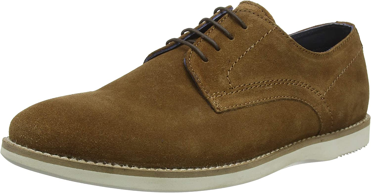 TALLA 42 EU. Red Tape Tatton, Zapatos de Cordones Derby para Hombre