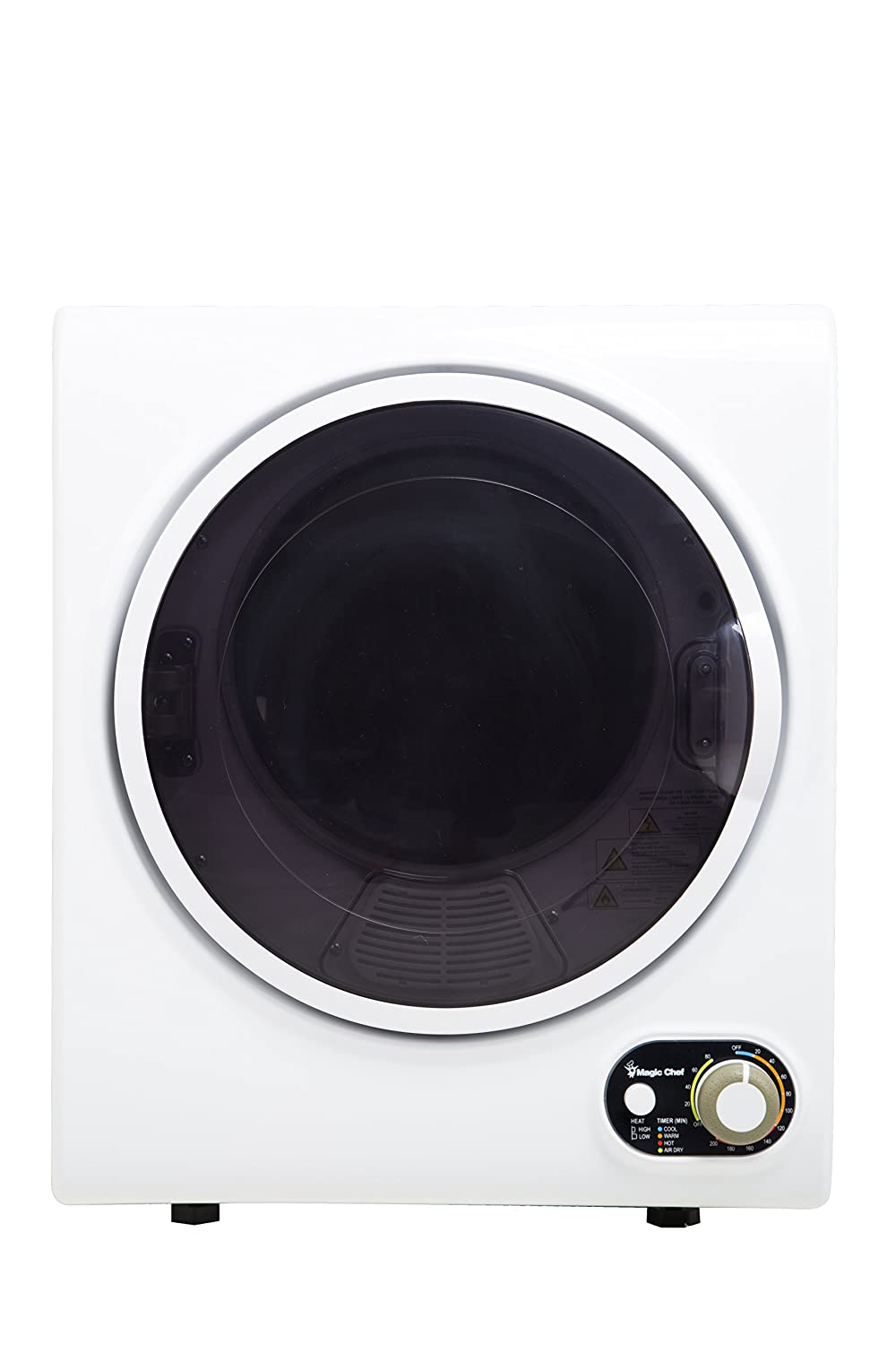 Magic Chef MCSDRY15W 1.5 cu. ft. Laundry Dryer, White
