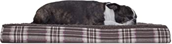 Furhaven Deluxe Orthopedic Foam Mattress Pet Bed (Medium)