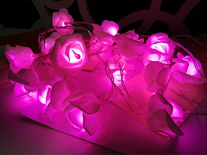Amazon.com: Fantasee – Cadena de luces LED con diseño de ...