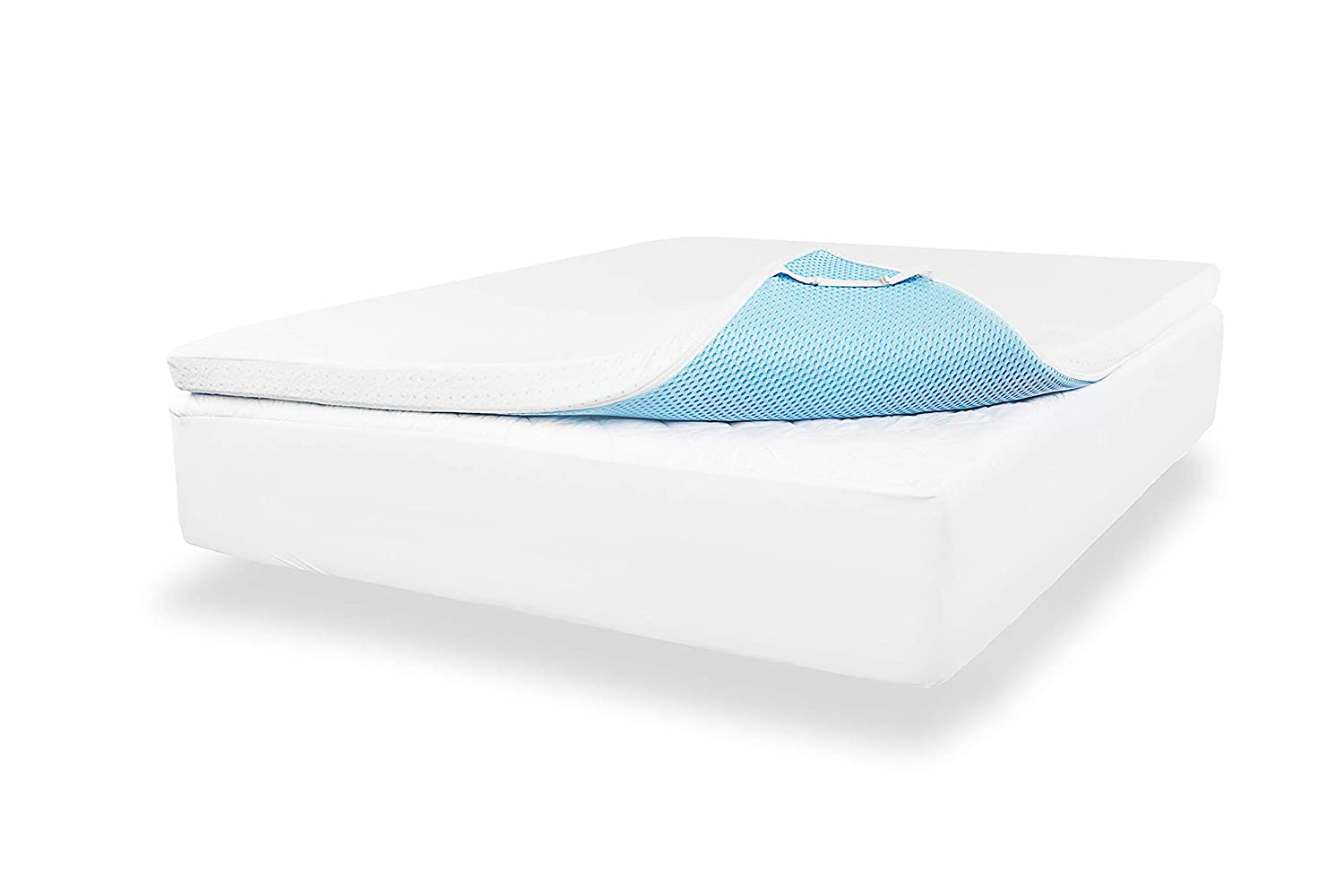 ViscoSoft Density Gel Memory Foam Mattress Topper