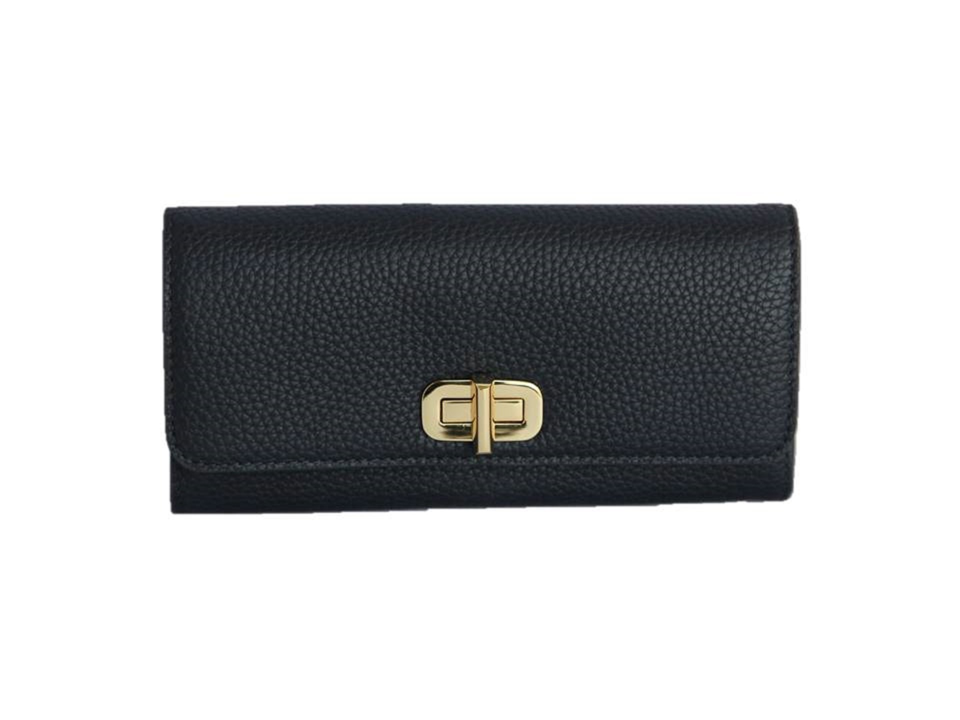 Michael Kors Sullivan Large Leather Carryall Wallet (Admiral Blue)