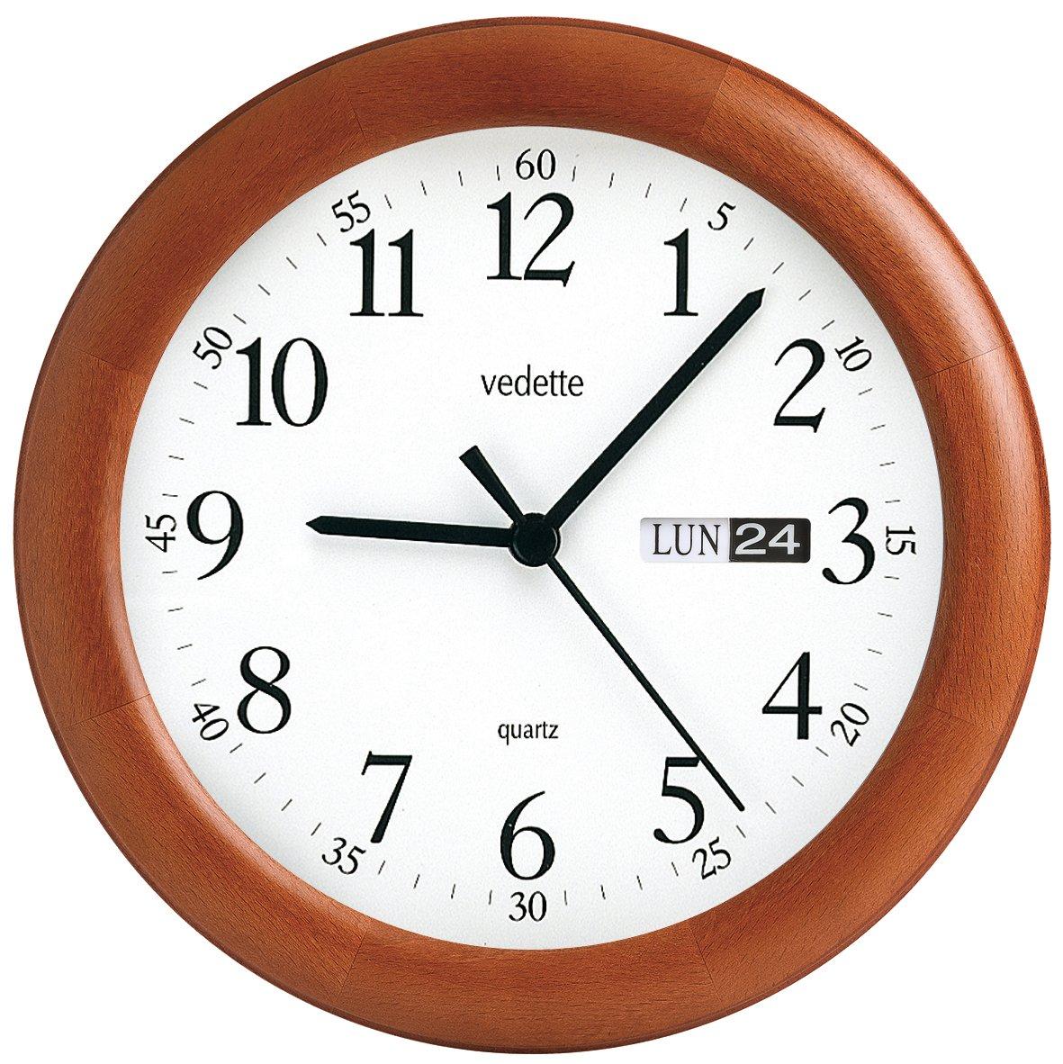 Vedette Floor Clock, Color White
