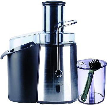 Zephyr Z-1160-J Licuadora eléctrica, 2 velocidades, tubo grande para frutas y verduras, 700 W, 1.7 litros, Plástico, Negro: Amazon.es: Hogar