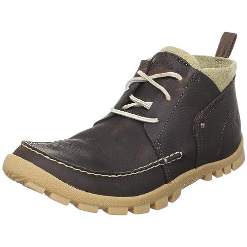 64009d37be8 Columbia Lowdown Mid - Botas de cuero para hombre marrón Tobacco 41  Amazon. es  Zapatos y complementos