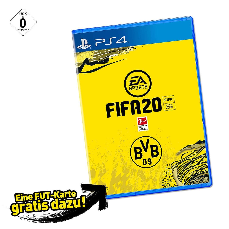 Borussia Dortmund EA Sports FIFA 20 PS 4 mit Spielerkarte Sancho