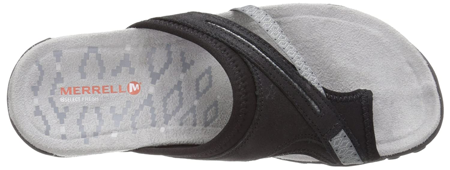 Merrell Women's Terran Post II US|Black Sandal B00YDKDOJC 5 B(M) US|Black II ca1828