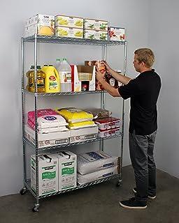 Amazon.com: UNICOO - Multi Use DIY 20 Cube Wire Grid Organizer ...