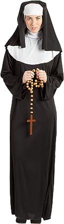 Disfraz Monja M-L: Amazon.es: Juguetes y juegos