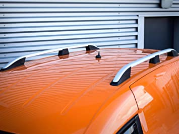 VW CADDY MAXI on 2004 ALUMINIUM ANTI THEFT ROOF RAIL BARS RACK CROSS BARS BLAC