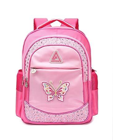 Little Girls Backpacks for Kindergarten Kids Preschool Cute School Bags  Durable Bookbags (Butterfly fb0967503a44b