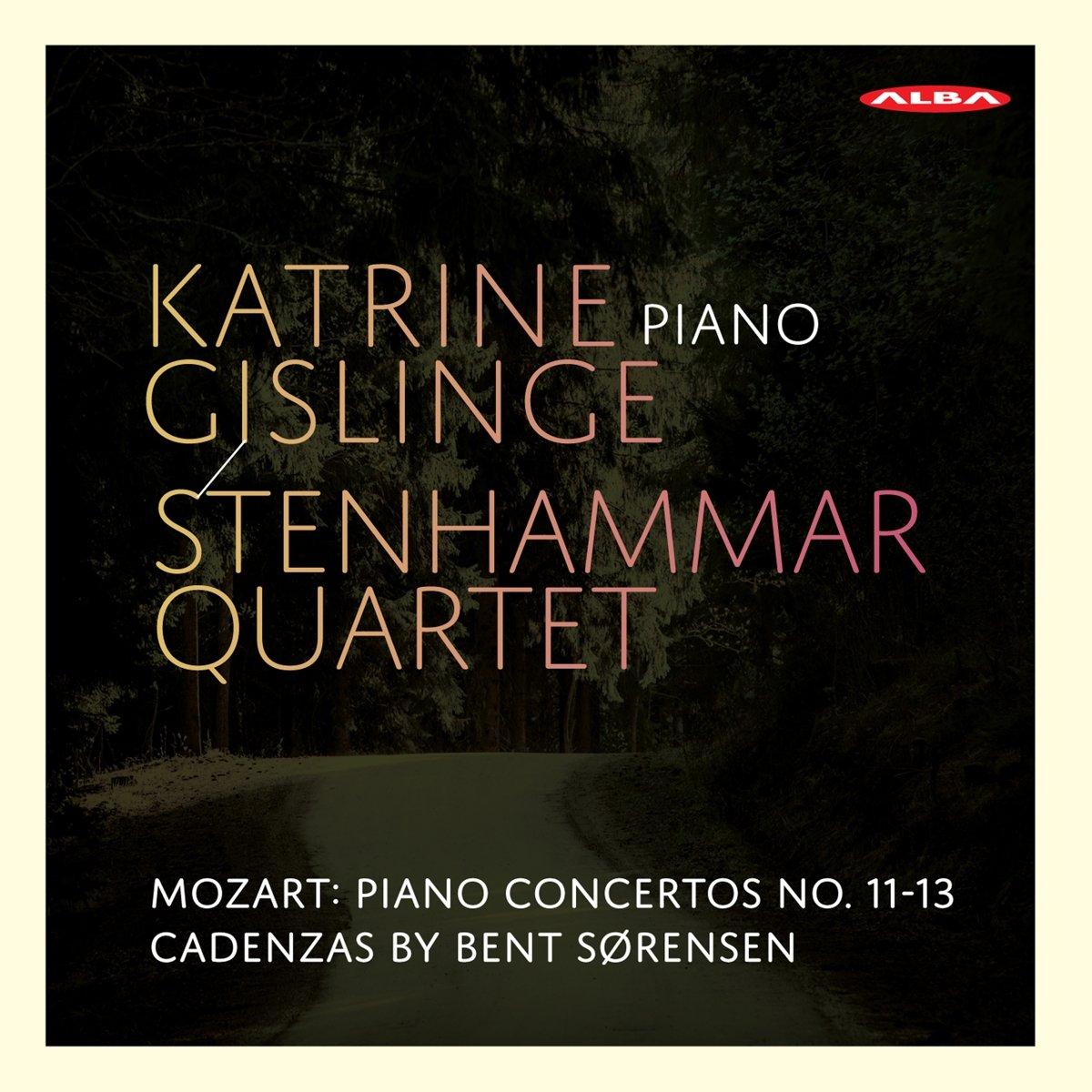 SACD : Katrine Gislinge /Stenhammar Quarte - Piano Concertos (Hybrid SACD)