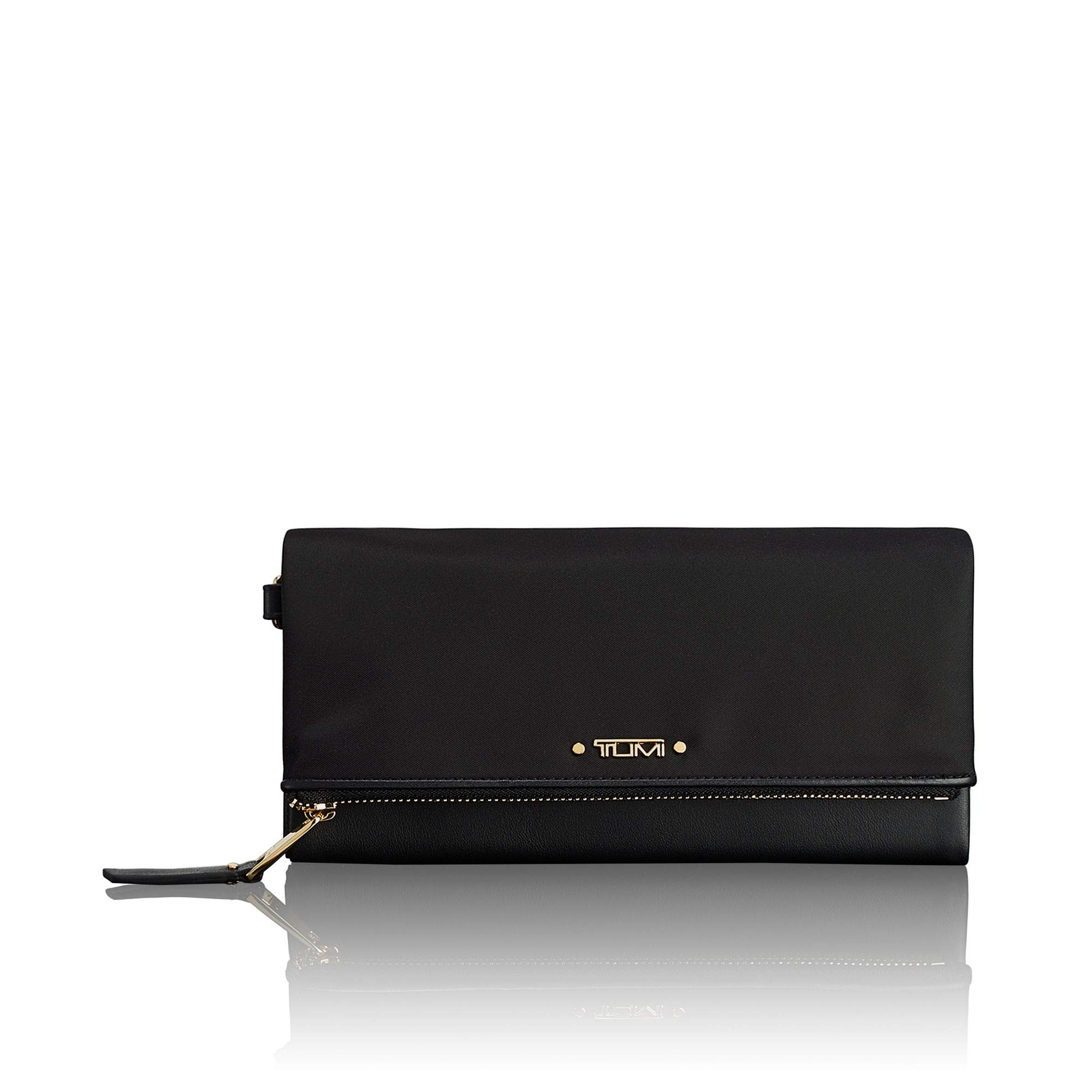 TUMI - Voyageur Flap Continental Wallet - Card Holder for Women - Black by TUMI
