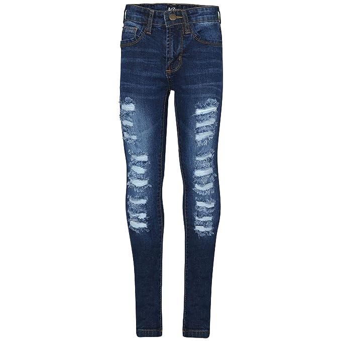 Amazon.com: Pantalones vaqueros para niñas de 3 a 14 años ...