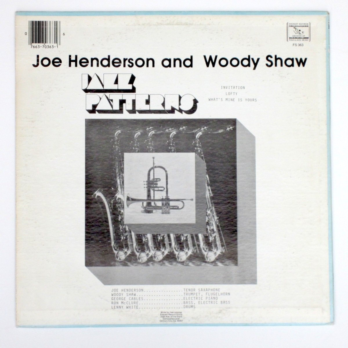 Joe Henderson Woody Shaw Joe Henderson And Woody Shaw Jazz