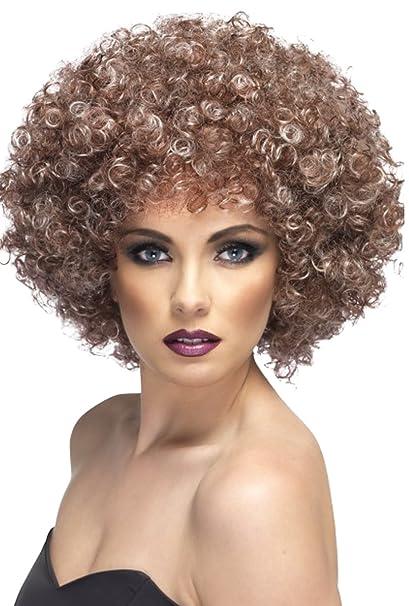 Adultos Fancy Dress Party peluca afro mega-huge para hombre gorro de invierno varios colores