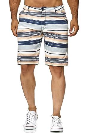 ArizonaShopping - Shorts Pantalon d été pour Hommes à Rayures Courtes Style  Chino H2452  Amazon.fr  Vêtements et accessoires 3d8b35e8753