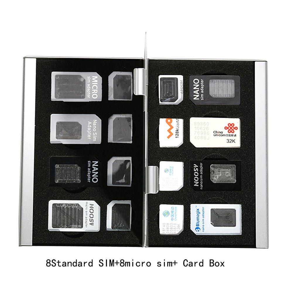 Amazon.com: Myymee - 8 soportes para tarjetas SIM + 8 ...