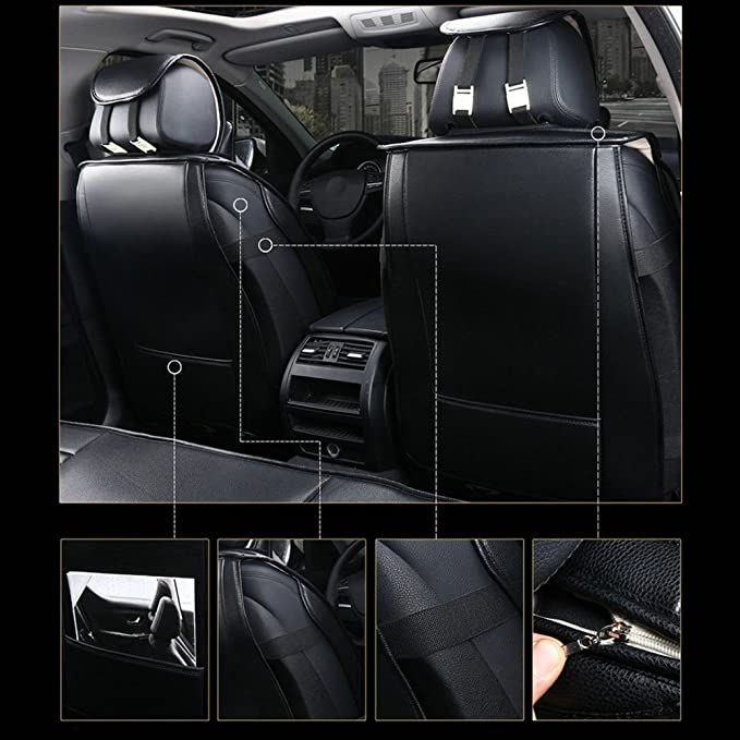 KS-G0213900 Autokleidung Sitzbez/üge Farbe GRAU 02 Komplettgarnitur ma/ßgefertigt Schonbez/üge nach Ma/ß