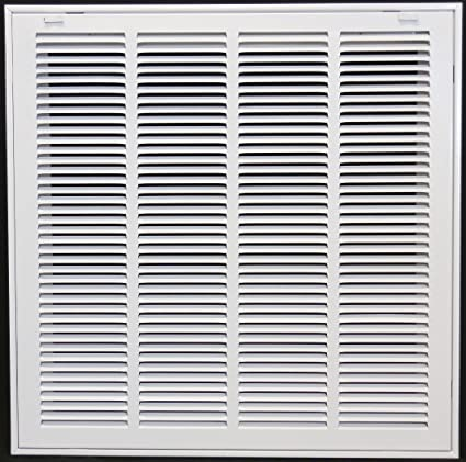 20 X 20 Steel Return Air Filter Grille For 1 Filter Removable