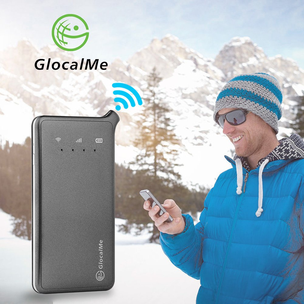 GlocalMe U2 4G Mobile Hotspot - Unlocked WIFI Hotspot with Annual Unlimited Data Plan for USA by Glocalme (Image #6)