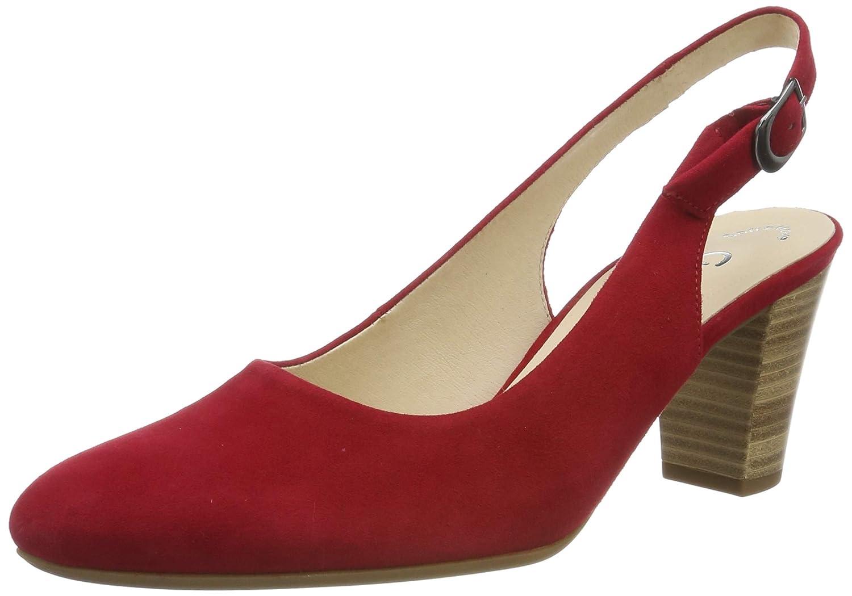 Rot (Rubin 48) Gabor Damen Comfort Fashion Pumps