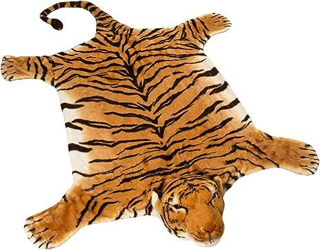 small silk Tiger carpet