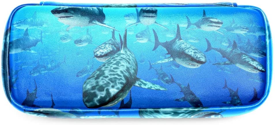 Astuccio portapenne a forma di squalo cancelleria per cancelleria per scuola e ufficio TIZORAX