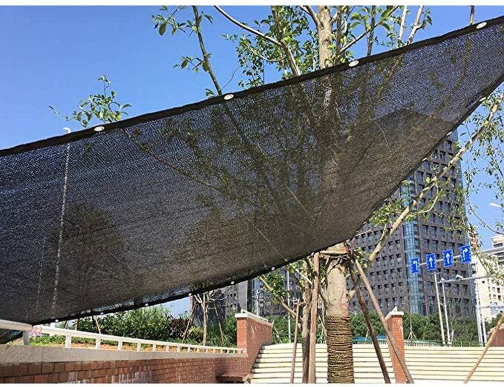 BAIYING Malla Sombra De Red Suculentas Hidratante Balcón Protector Solar Pérgola Cubrir Anti-pájaro Hebilla De Metal, 24 Tallas Personalizable (Color : Black, Size : 6x7m): Amazon.es: Hogar