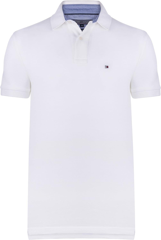 Tommy Hilfiger – Camiseta estilo Polo para hombre, de algodón de ...