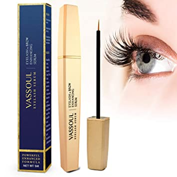 7d91c712016 Image Unavailable. Image not available for. Color: Vassoul Eyelash Growth Serum  for Longer, Thicker ...