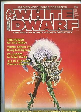 amazon com white dwarf 79 july 1986 tsr dd rpb magazine mbx68
