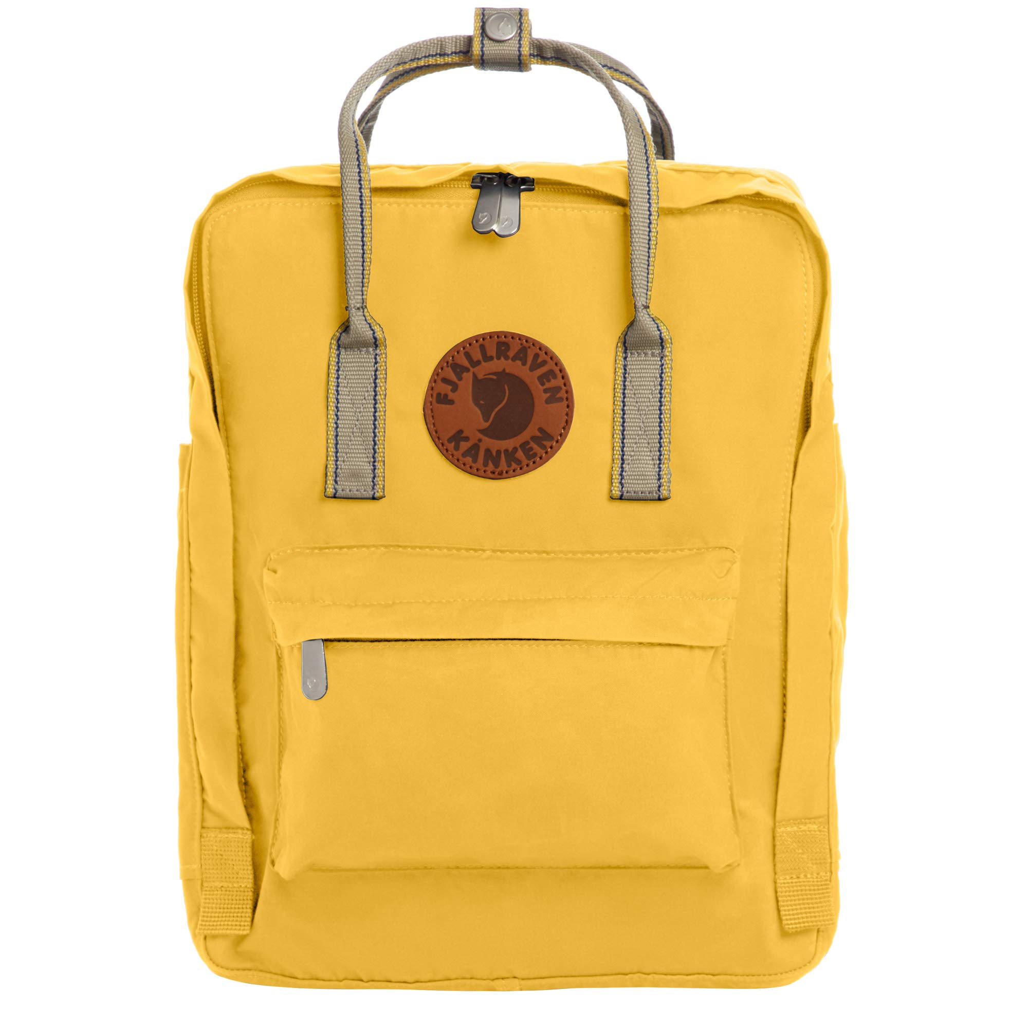 Fjallraven - Kanken Greenland Backpack for Everyday, Dandelion/Greenland Backpack for Everyday Webbing by Fjallraven
